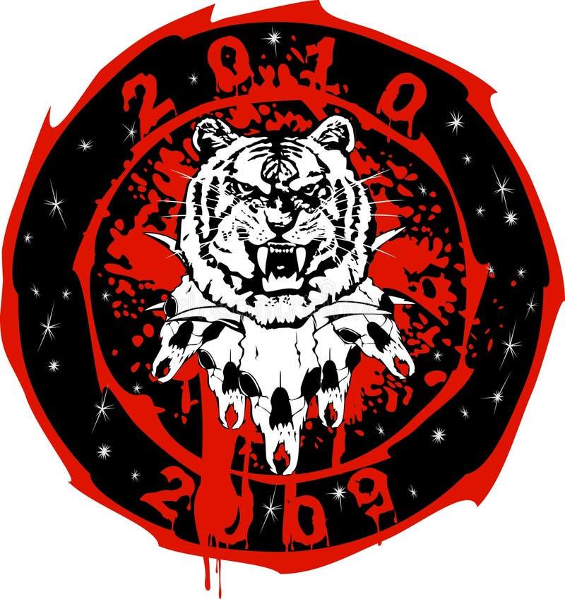 τίγρη ταύρων απεικόνιση αποθεμάτων