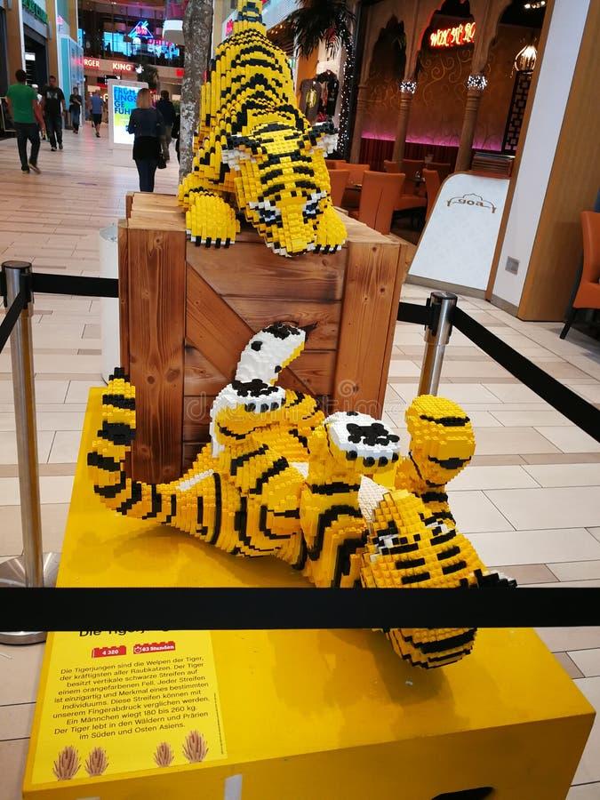Τίγρη Lego στοκ φωτογραφίες