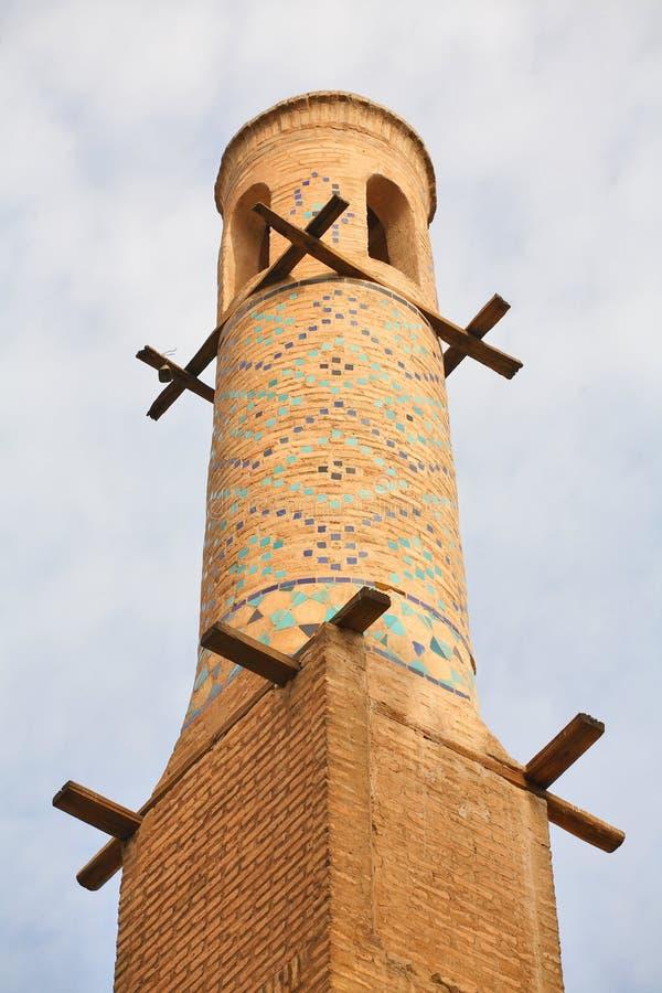 τίναγμα μιναρών του Ισφαχάν στοκ φωτογραφία με δικαίωμα ελεύθερης χρήσης