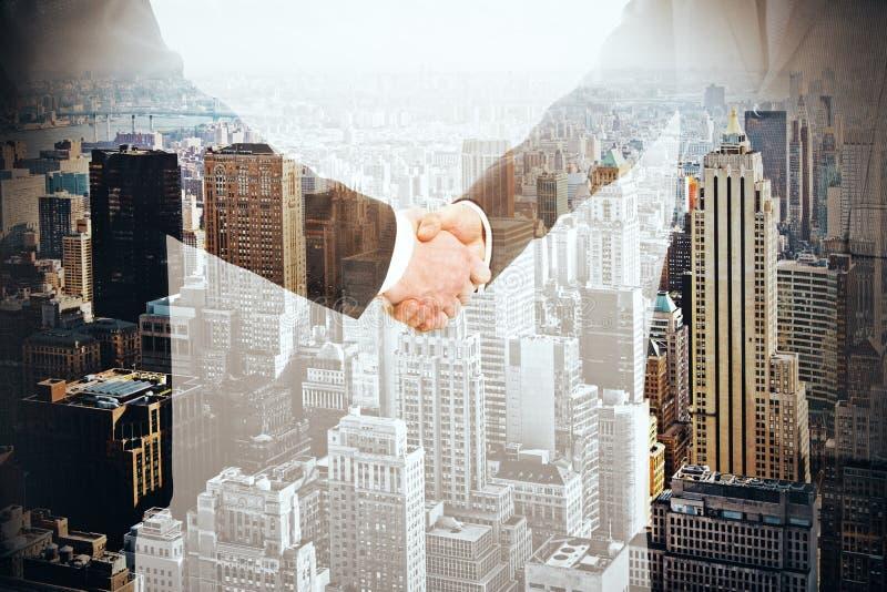 τίναγμα χεριών επιχειρημα&ta διανυσματική απεικόνιση