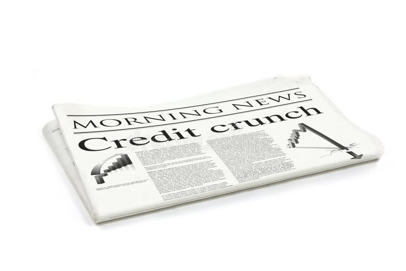τίτλος πιστωτικής κρίσιμη& στοκ εικόνες