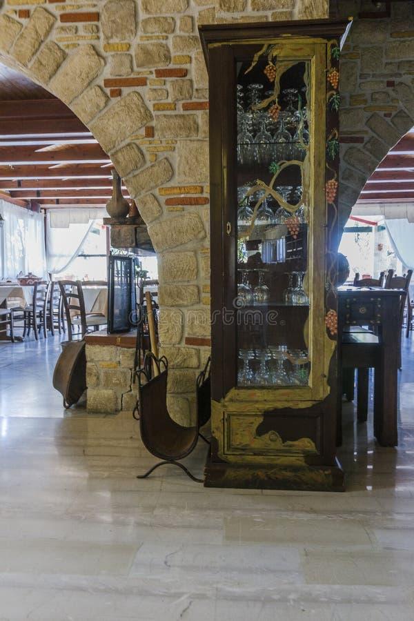 Ταβέρνα στην Κρήτη στοκ φωτογραφίες