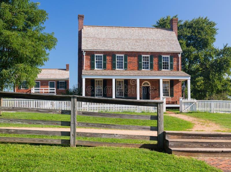 Ταβέρνα Hill τριφυλλιού στο εθνικό πάρκο Appomattox στοκ εικόνα με δικαίωμα ελεύθερης χρήσης