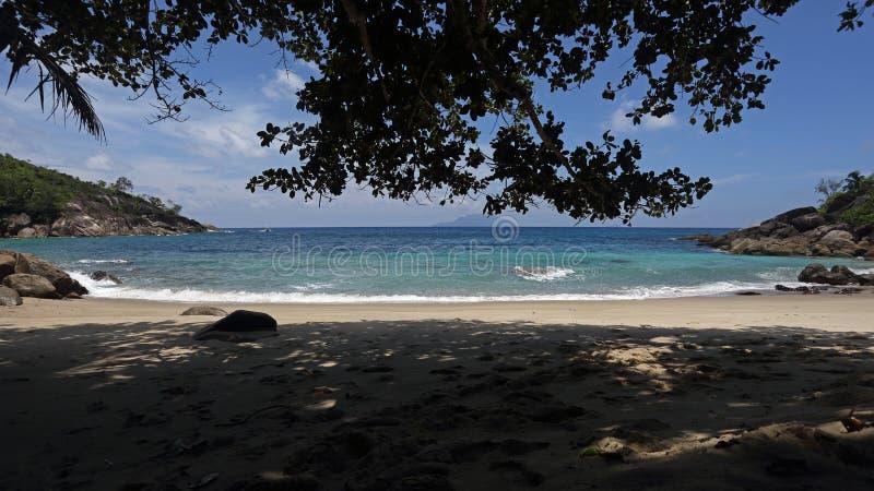 Ταγματάρχης Anse, νησί Mahe, Σεϋχέλλες στοκ φωτογραφίες