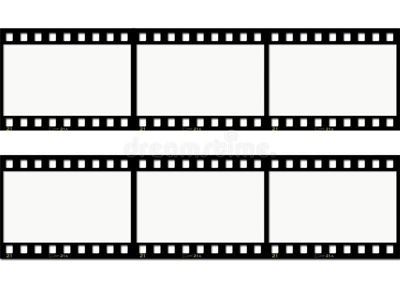 ταινία ανασκόπησης διανυσματική απεικόνιση