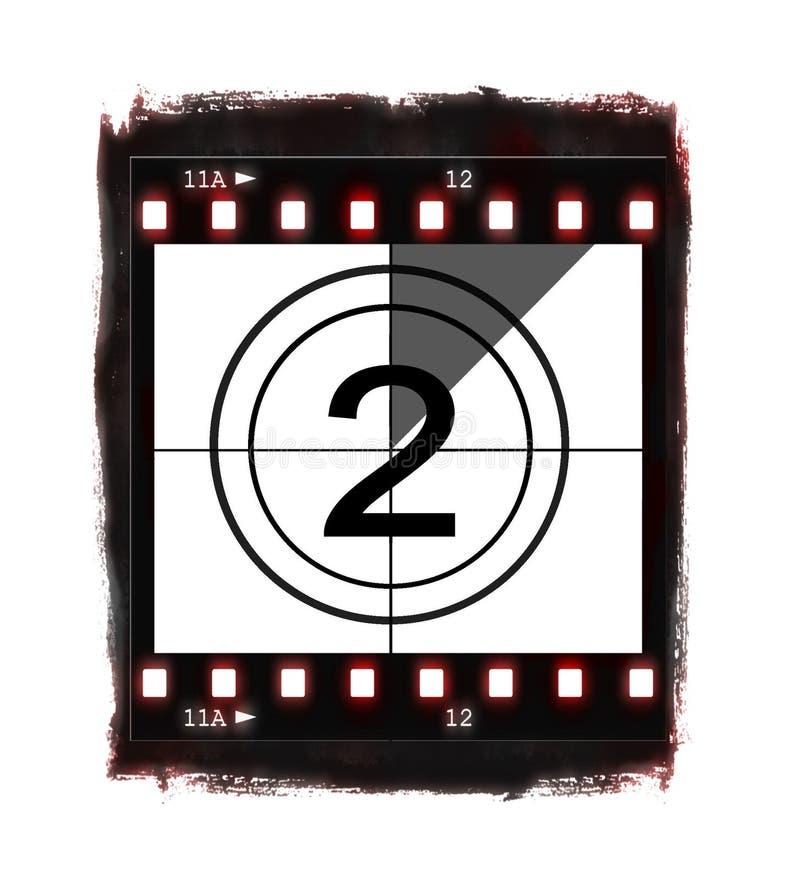 ταινία αριθ. 2 αντίστροφης μέ&ta ελεύθερη απεικόνιση δικαιώματος