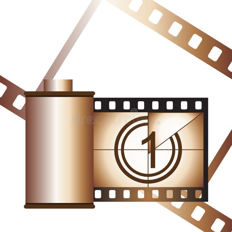 ταινία εμπορευματοκιβ&omega ελεύθερη απεικόνιση δικαιώματος
