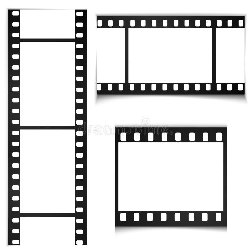 Ταινία, διανυσματικό αφηρημένο υπόβαθρο υποβάθρου κινηματογράφων απεικόνιση αποθεμάτων