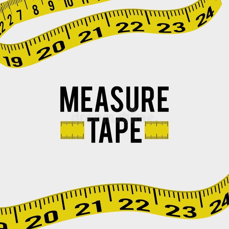 Ταινία και να κάνει δίαιτα μέτρου απεικόνιση αποθεμάτων