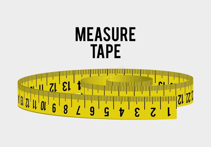 Ταινία και να κάνει δίαιτα μέτρου ελεύθερη απεικόνιση δικαιώματος