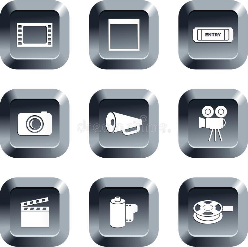 ταινία κουμπιών απεικόνιση αποθεμάτων