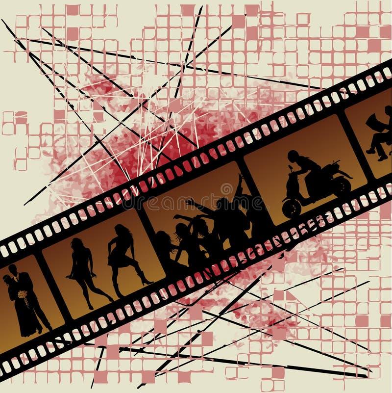 ταινία παλαιά ελεύθερη απεικόνιση δικαιώματος