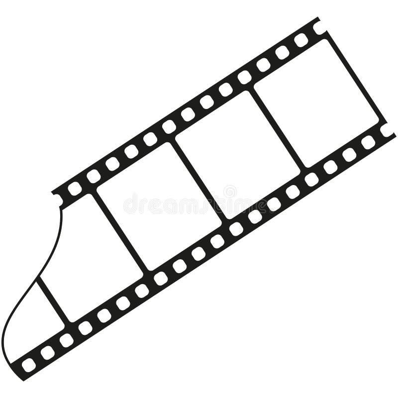 Ταινία σκιαγραφιών απεικόνιση αποθεμάτων