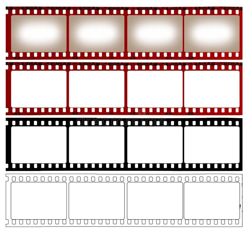 ταινία τέσσερα αντιπροσω&pi ελεύθερη απεικόνιση δικαιώματος