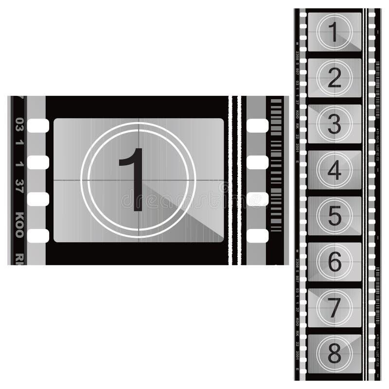 ταινία χρώματος 70mm απεικόνιση αποθεμάτων
