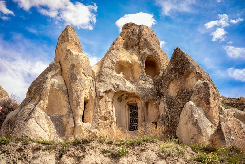 Τακτοποιήσεις σπηλιών σε Cappadocia, Τουρκία στοκ φωτογραφία με δικαίωμα ελεύθερης χρήσης