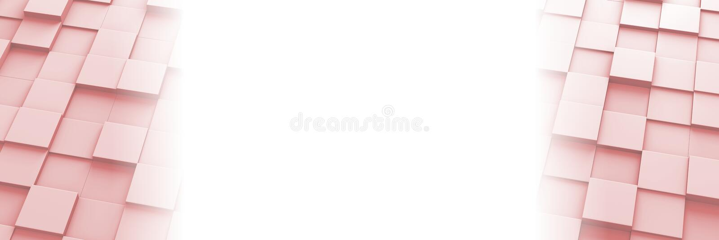 Τακτοποιημένο έμβλημα σχεδίων κεραμιδιών τρισδιάστατο διανυσματική απεικόνιση