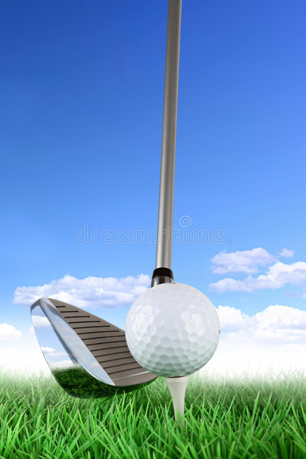 ταλάντευση γκολφ 3 στοκ φωτογραφία