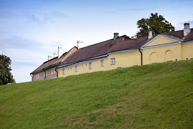 Ταλίν Σπίτια στο Hill Maarjamae της Mary στην περιοχή Pirita, Ταλίν στοκ φωτογραφίες με δικαίωμα ελεύθερης χρήσης