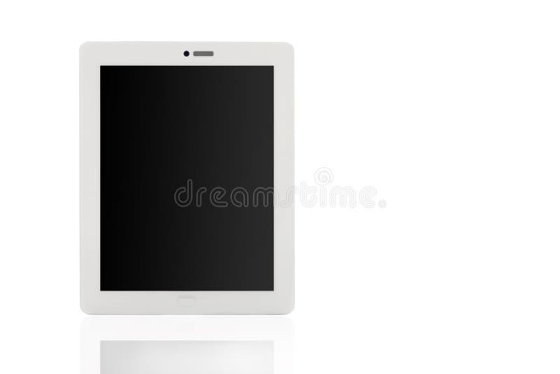 Ταμπλέτα υπολογιστών στο άσπρο υπόβαθρο στοκ εικόνα με δικαίωμα ελεύθερης χρήσης
