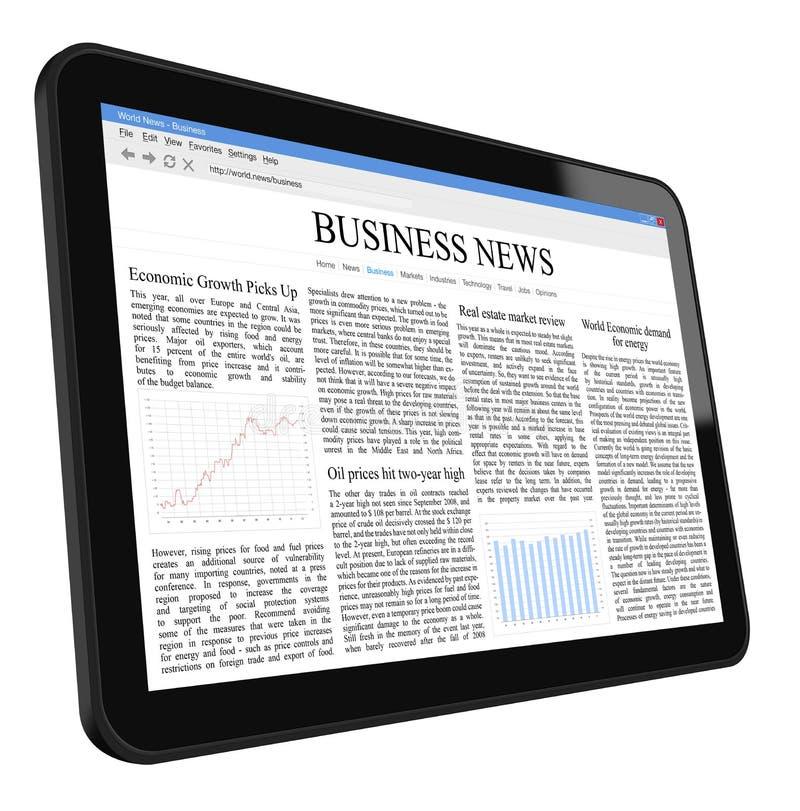 ταμπλέτα PC επιχειρησιακών &ep απεικόνιση αποθεμάτων