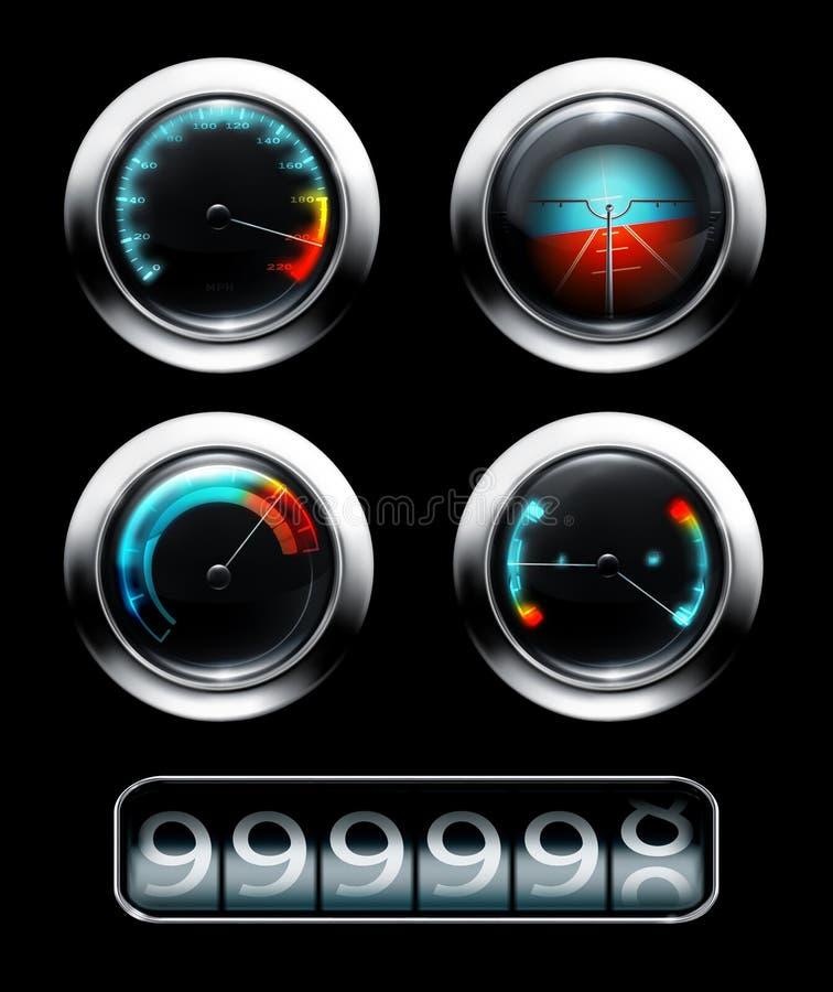 Ταμπλό διανυσματική απεικόνιση