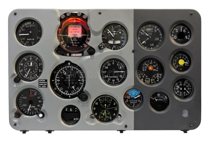 Ταμπλό αεροπλάνων στοκ φωτογραφίες με δικαίωμα ελεύθερης χρήσης