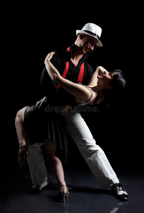 τανγκό χορού στοκ εικόνα