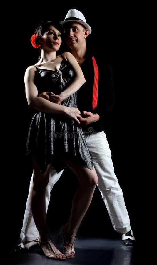τανγκό χορού στοκ φωτογραφία