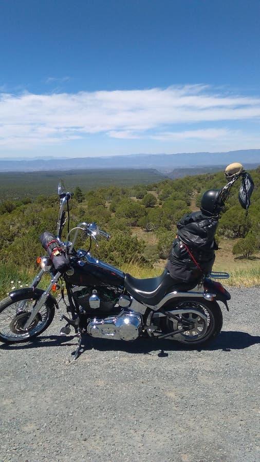 Ταξίδι μοτοσικλετών στοκ φωτογραφία με δικαίωμα ελεύθερης χρήσης