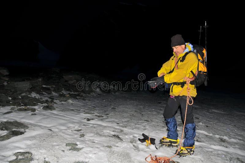ταξίδι παγετώνων στοκ εικόνα
