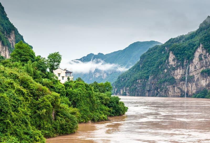 Ταξίδι στον ποταμό Yangtze στοκ φωτογραφίες