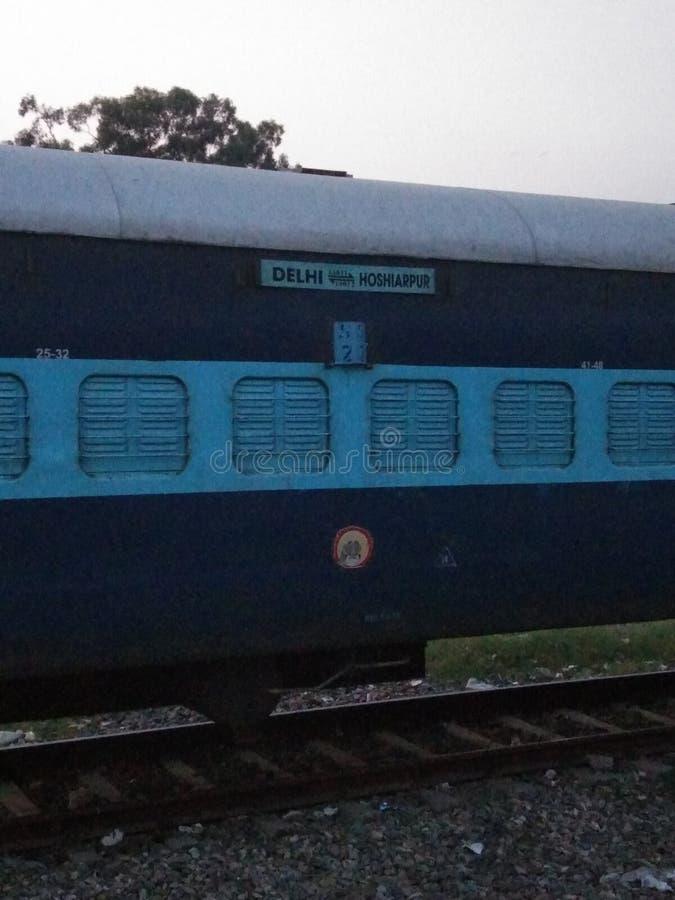 Ταξίδι στο τραίνο στοκ εικόνα