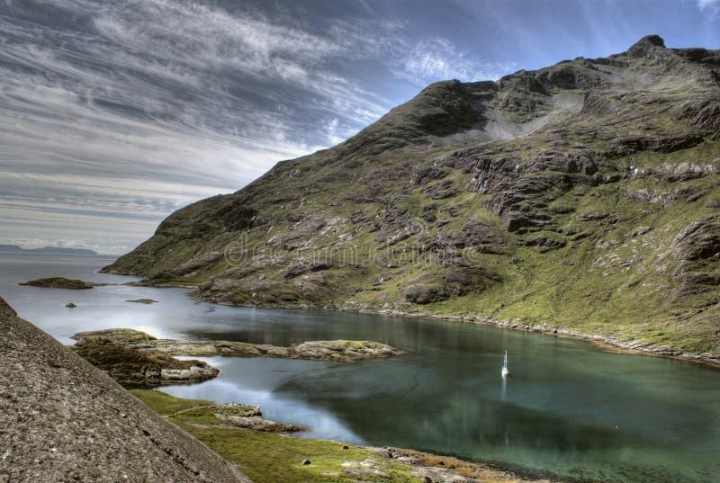 ταξίδι της Σκωτίας βαρκών στοκ εικόνες