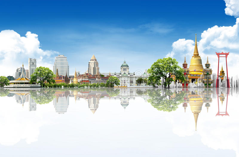 Ταξίδι της Ταϊλάνδης στοκ εικόνες
