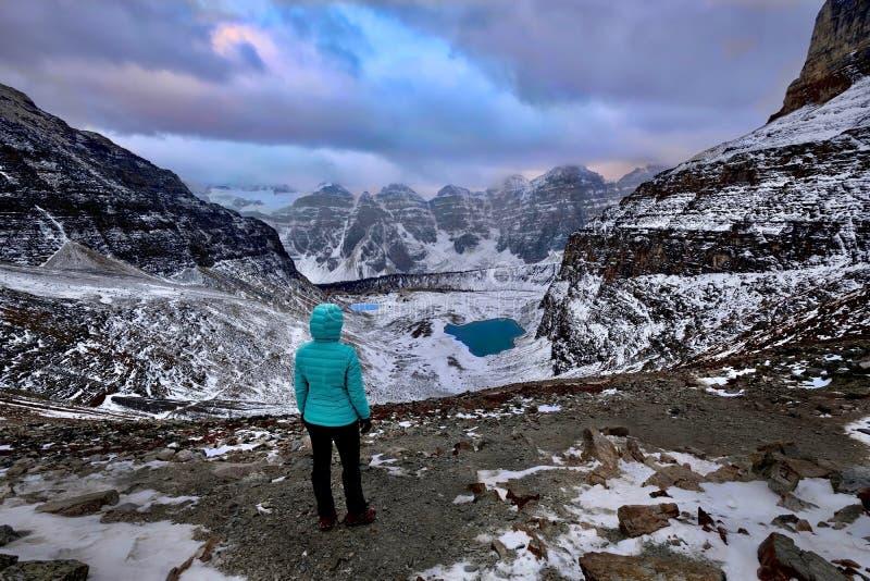 Ταξίδι Canadian Rockies Εθνικό πάρκο Banff στοκ εικόνα με δικαίωμα ελεύθερης χρήσης