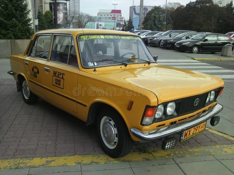 Ταξί από τμηματικό Zmiennicy ΦΊΑΤ 125p WPT 1313 στοκ εικόνες