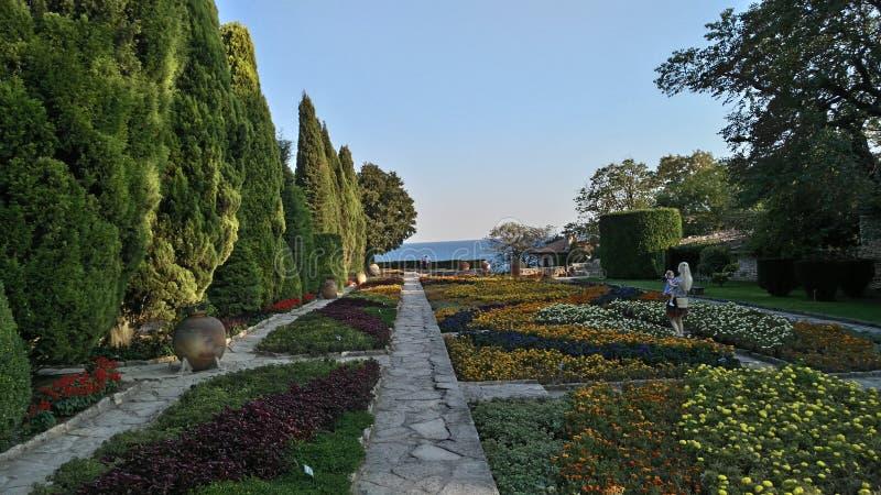 Ταξίδι βοτανικών κήπων της Βουλγαρίας Balchik στοκ εικόνες με δικαίωμα ελεύθερης χρήσης