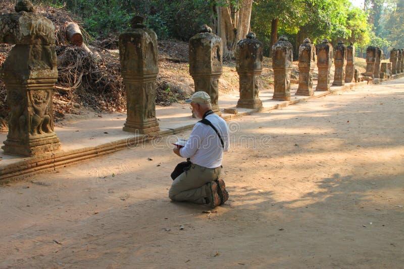Ταξίδι σε Prasat Preah Khan στοκ εικόνες με δικαίωμα ελεύθερης χρήσης