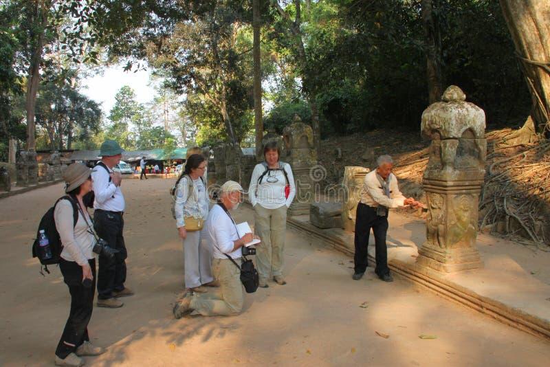 Ταξίδι σε Prasat Preah Khan στοκ εικόνα με δικαίωμα ελεύθερης χρήσης