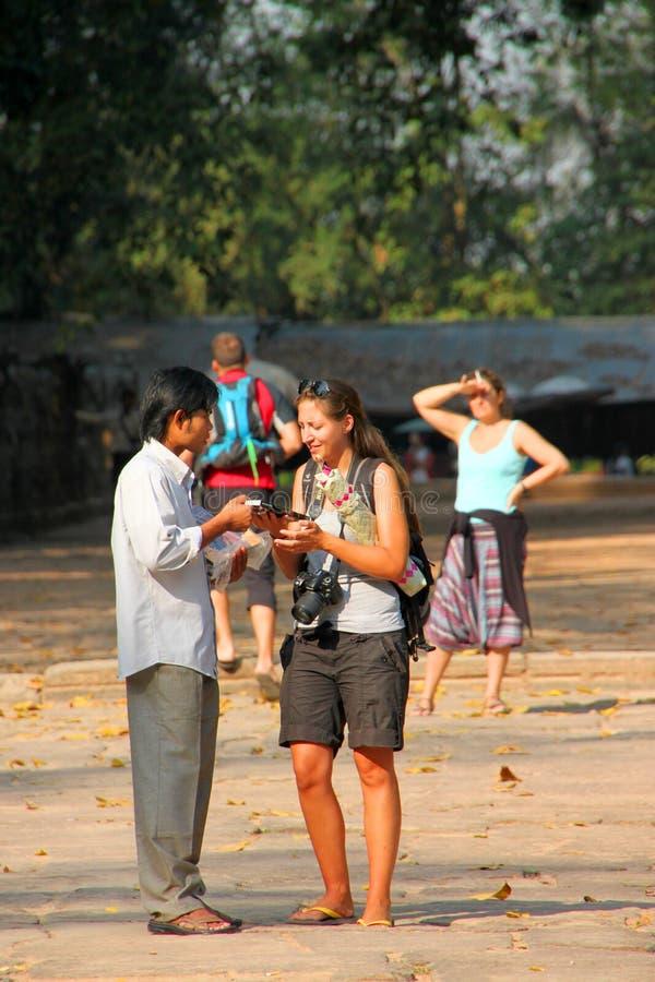 Ταξίδι σε Prasat Preah Khan στοκ εικόνες