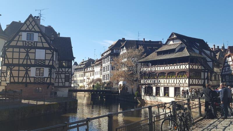 Ταξίδι στο Στρασβούργο στοκ εικόνες