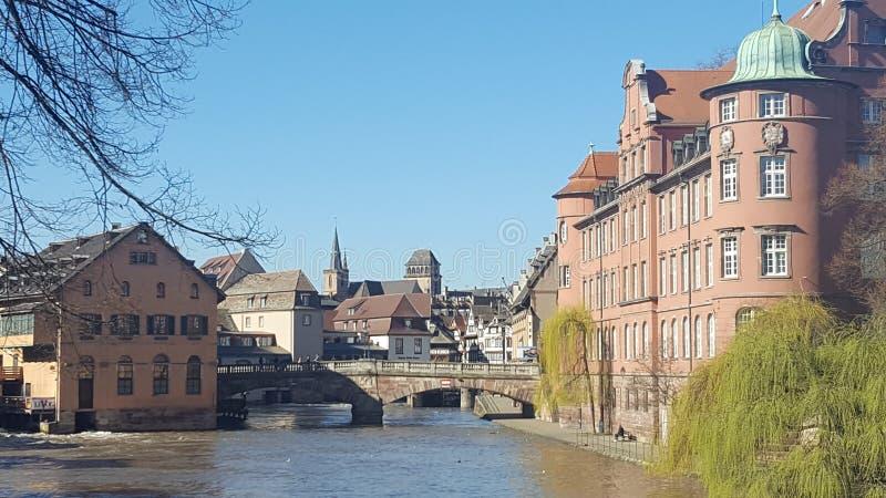Ταξίδι στο Στρασβούργο στοκ φωτογραφίες με δικαίωμα ελεύθερης χρήσης