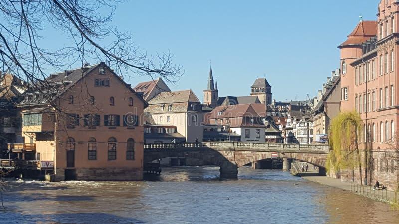 Ταξίδι στο Στρασβούργο στοκ εικόνα με δικαίωμα ελεύθερης χρήσης
