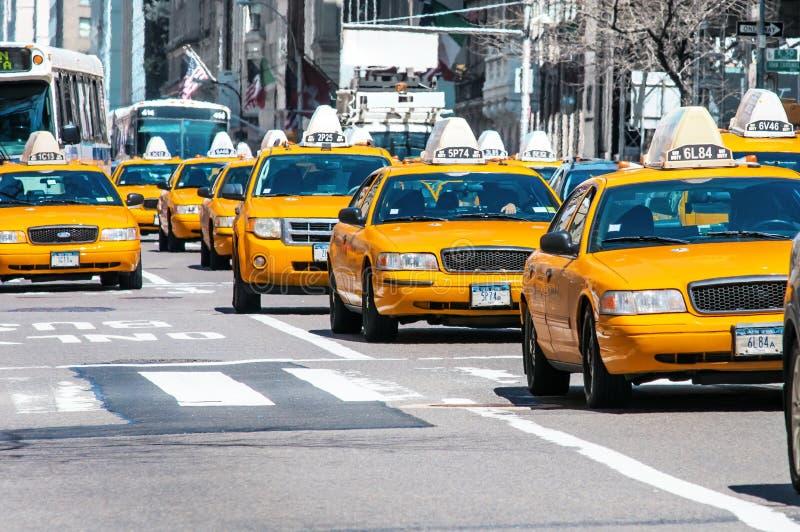 ταξί κίτρινο στοκ εικόνες με δικαίωμα ελεύθερης χρήσης
