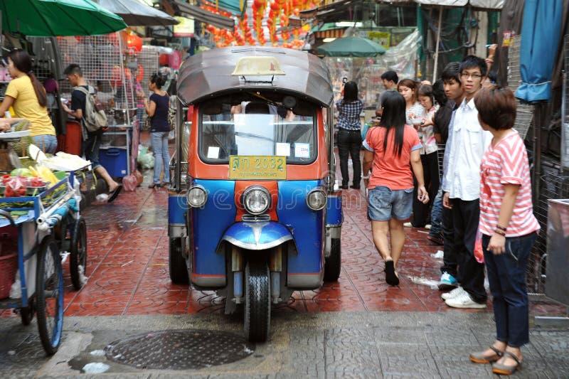 Ταξί της Μπανγκόκ tuk-Tuk στοκ φωτογραφία με δικαίωμα ελεύθερης χρήσης