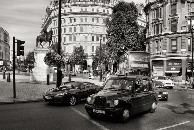 Ταξί του Λονδίνου στοκ εικόνες