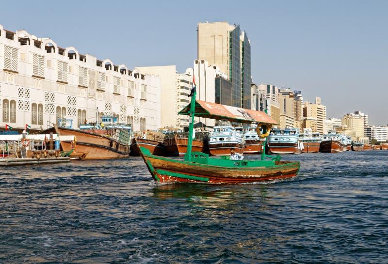 Ταξί ύδατος στο Ντουμπάι στοκ φωτογραφία με δικαίωμα ελεύθερης χρήσης
