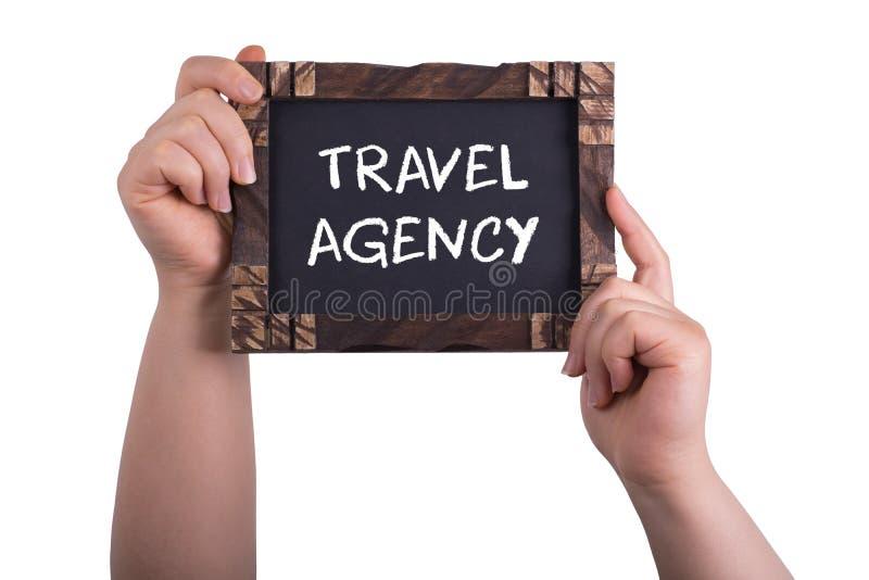 Ταξιδιωτικό γραφείο στοκ εικόνα με δικαίωμα ελεύθερης χρήσης