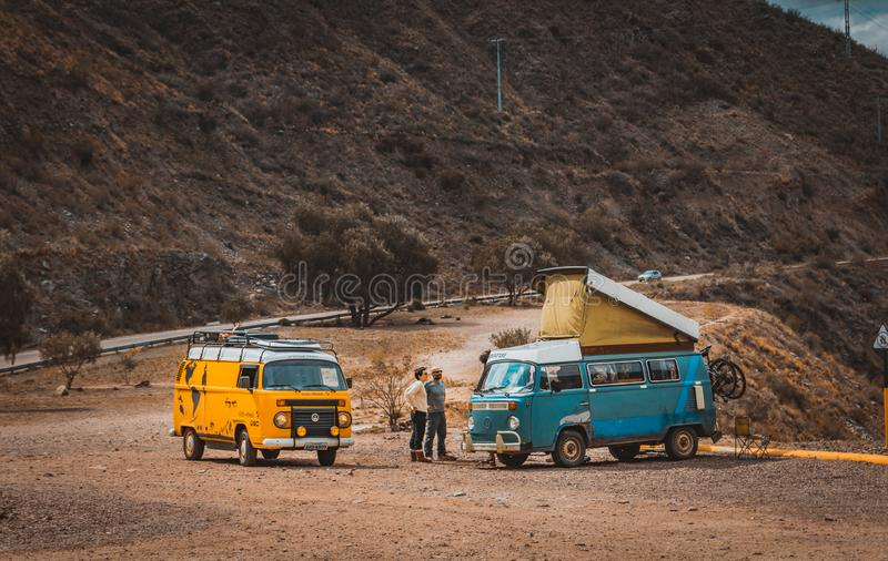 Ταξιδιώτες Patagoinian στοκ φωτογραφία με δικαίωμα ελεύθερης χρήσης